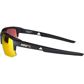 100% Speedcoupe Brille soft tact black | hd red multilayer/hiper lense